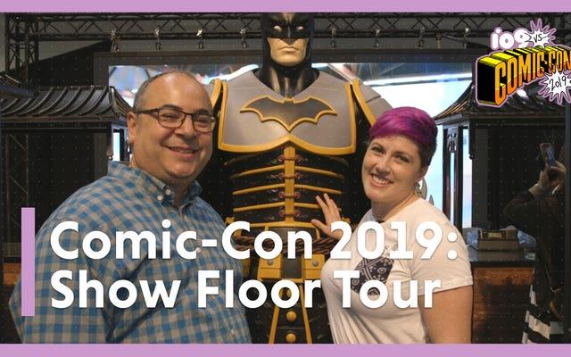 io9 vous emmène en tournée à l'intérieur de l'étage d'exposition du Comic-Con 2019 de San Diego