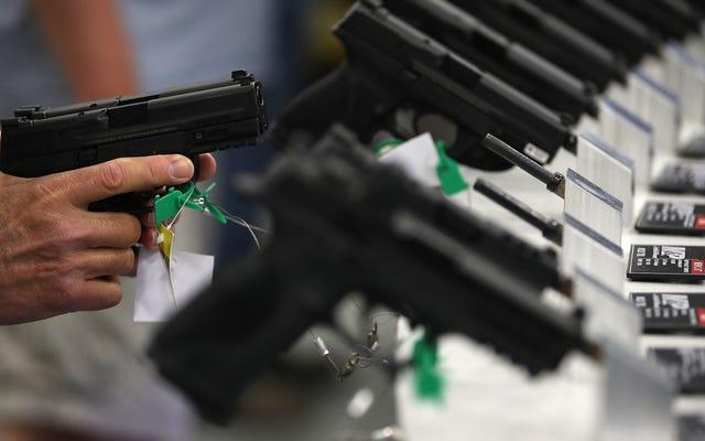 悲劇的な:内戦の欠如のために一時的にわずかに価値が低い銃製造業者