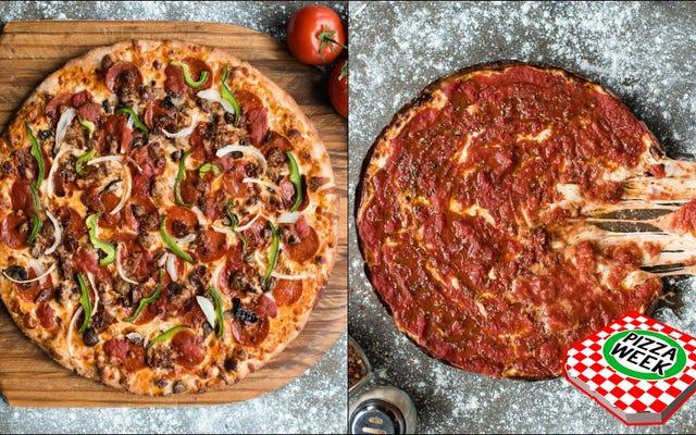 न्यूयॉर्क पिज्जा और शिकागो की गहरी डिश के बीच लड़ाई में, दोनों को क्यों नहीं चुना गया?