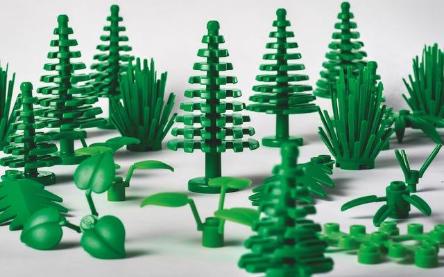 Lego'nun Yeni Bitki Tuğlaları Bitkilerden Yapıldı