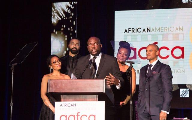 AAFCA अवार्ड्स में, टीवी और फिल्म के अश्वेत कलाकार एक दूसरे में निवेश करते हैं
