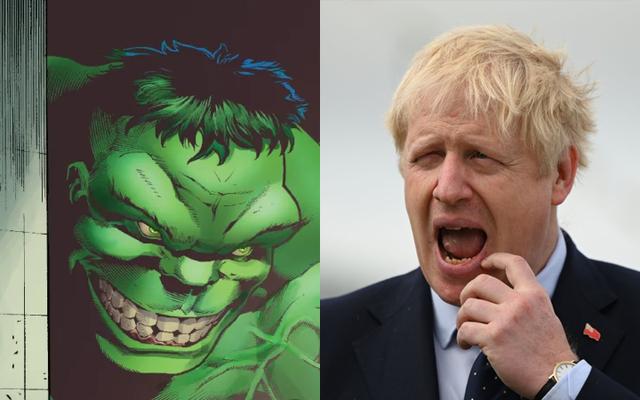 Марк Руффало как мститель отвечает на попытку Бориса Джонсона сравнить Халка с Брекситом