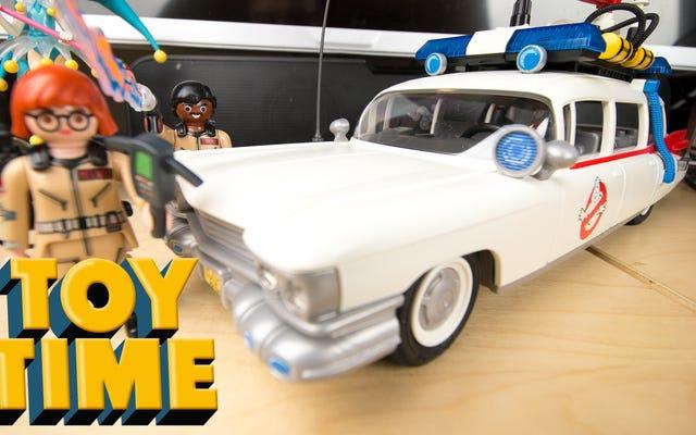 Toy Time Rayakan Hari Ghostbusters Dengan Playmobil's Ecto-1
