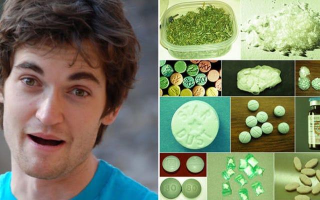 ウルブリヒトはオンライン麻薬サイトの設立を認め、彼は麻薬の売人ではないと言う