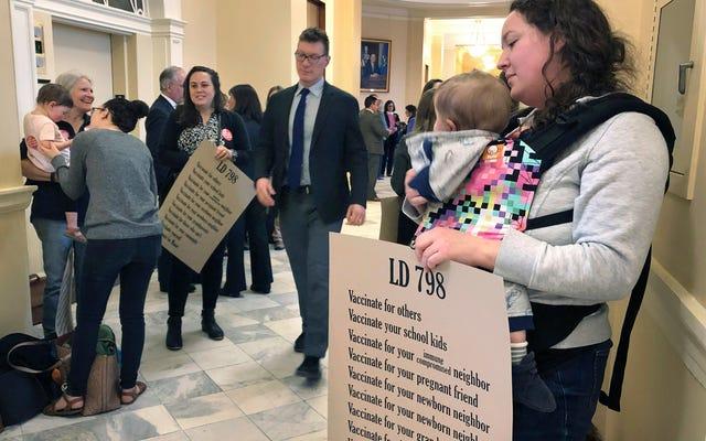 Undang-undang New Maine Mengakhiri Alasan Non-Medis untuk Menghindari Vaksinasi