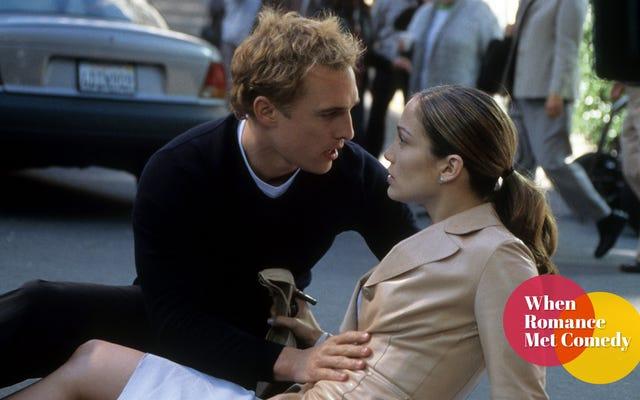 The Wedding Planner ha creato star delle commedie romantiche Jennifer Lopez e Matthew McConaughey