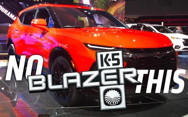Le Chevrolet Blazer 2020 est tellement décevant qu'il fait un peu mal
