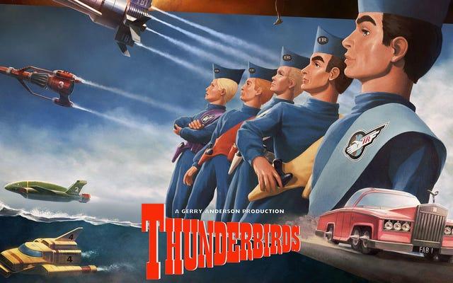 Thunderbirds Pergi Dengan Lini Koleksi Baru