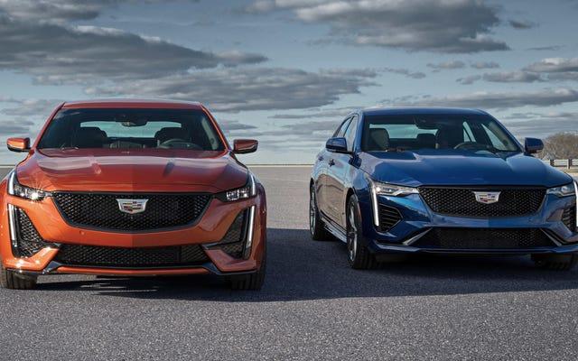 Los dos coches Cadillac V-Series decepcionantes son solo parte de una gran decepción