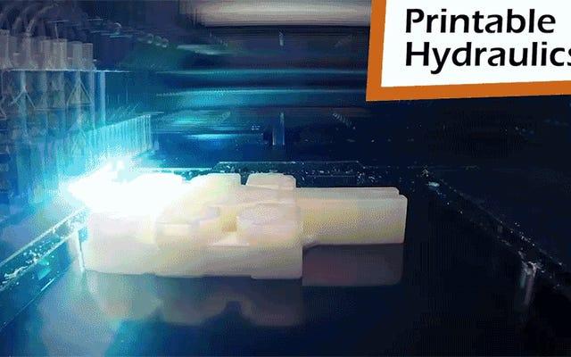 เครื่องพิมพ์ 3 มิตินี้สร้างหุ่นยนต์ที่สามารถเดินออกไปได้ทันทีที่เสร็จแล้ว