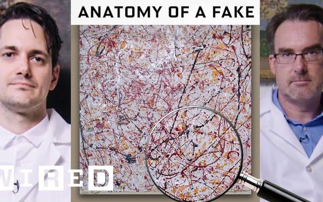専門家が偽造絵画を見つける方法