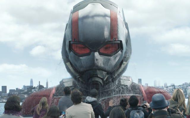 La Marvel si prende una pausa con lo scattante Ant-Man And The Wasp