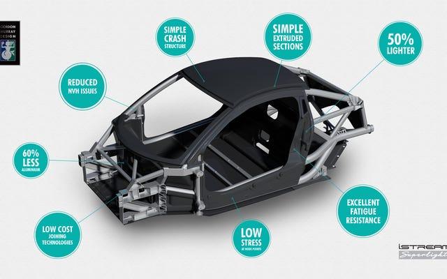 मैकलेरन एफ 1 के डिजाइनर एक म्याता से 220-एचपी स्पोर्ट्स कार है जो कि लाइटर थान पर काम कर रहा है