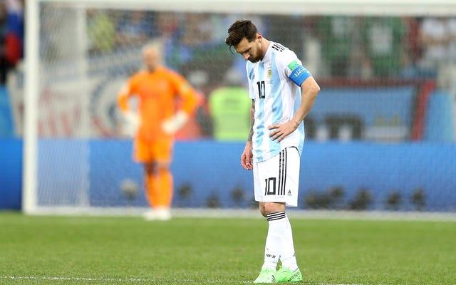 クロアチアはアルゼンチンを3-0の攻撃で最大の詐欺として公開