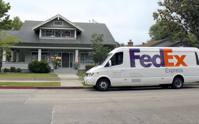 FedEx расширяет парк автомобилей с нулевым уровнем выбросов за счет 1000 новых электрических фургонов Chanje
