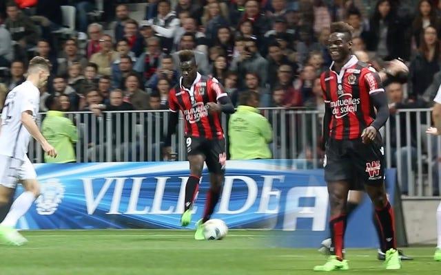 Das Glück sieht zu, wie Mario Balotelli PSG in den Wahnsinn treibt