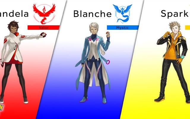 Temui Pemimpin Tim Pokemon Go Anda