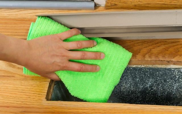 Come pulire le prese d'aria