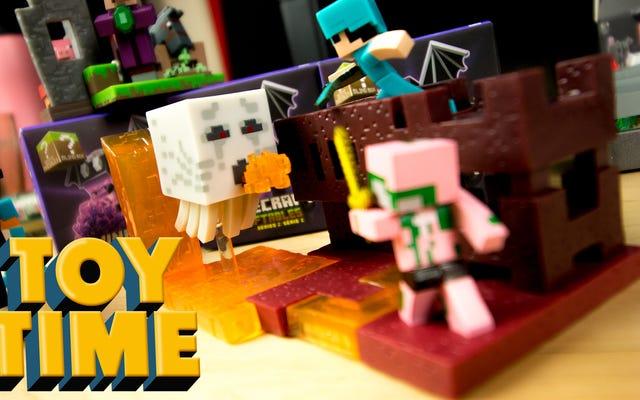 I set di costruzioni Mini Minecraft sono semplicemente carini
