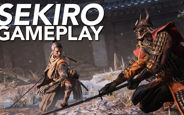 Sekiro:Shadows Die Twice Forced Us To Go Against Our Dark Souls Instincts