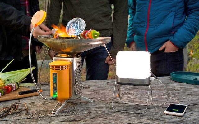 La nuova lanterna Bluetooth di BioLite significa che gli smartphone sono ora un accessorio essenziale per il campeggio