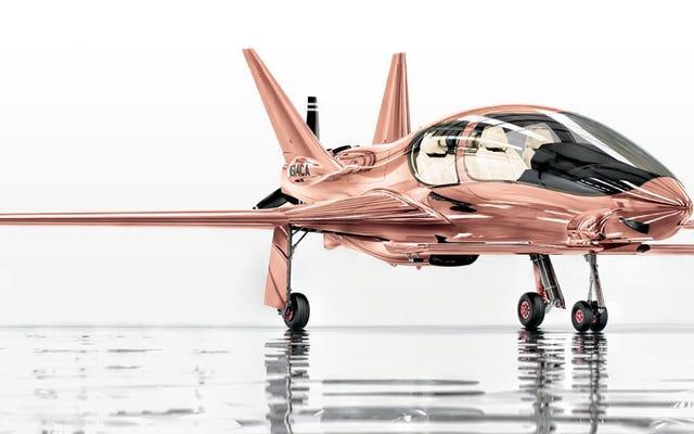 Neiman Marcus möchte, dass Sie ein Privatflugzeug in Roségold im Wert von 1,5 Millionen US-Dollar auf Ihre Weihnachtsliste setzen