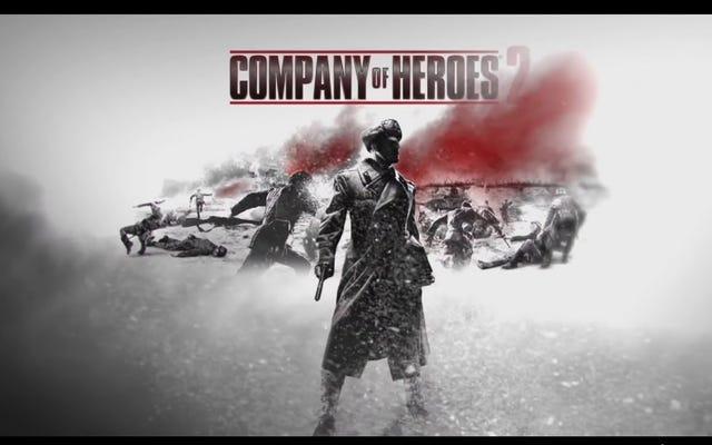 Téléchargez gratuitement 'Company of Heroes 2' ce week-end