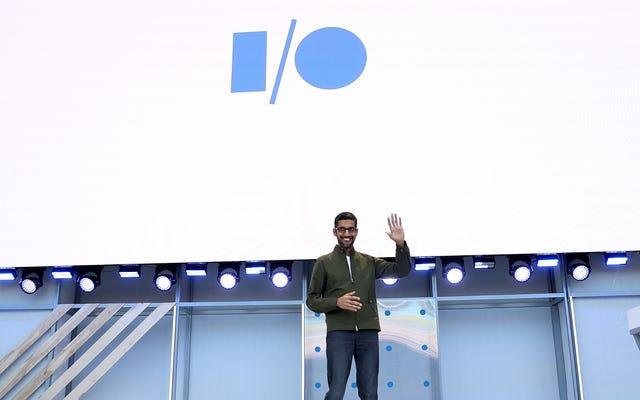 Google annulla la conferenza degli sviluppatori I / O a causa dei problemi di coronavirus