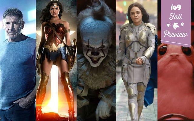 Guía de películas de otoño: 35 películas de superhéroes, ciencia ficción y fantasía a tener en cuenta