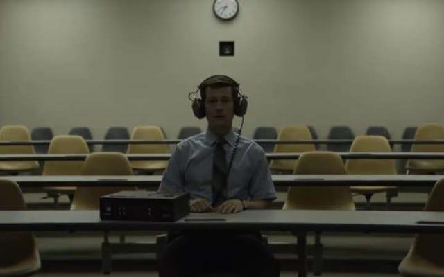 Mindhunter de David Fincher finalmente tiene una fecha de lanzamiento de Netflix