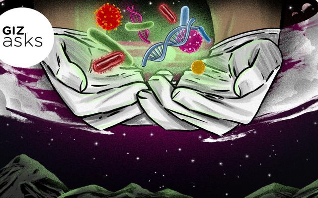 क्या हम आनुवंशिक रूप से संशोधित जीवों के साथ दूसरे ग्रह को आबाद कर सकते हैं?