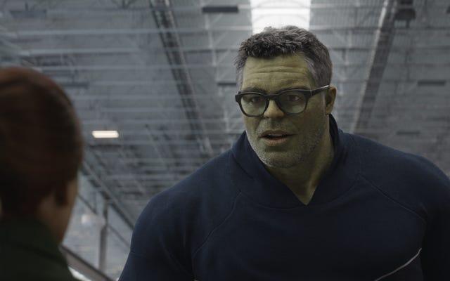 Cette bobine VFX montre comment Avengers de niveau supérieur: Hulk de Endgame était vraiment