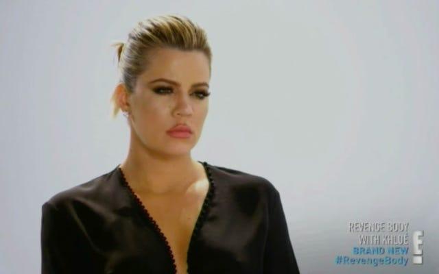 Khloe Kardashian nie dba o Twoją podróż do utraty wagi