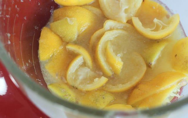 Comment presser un bouquet de citrons ou de limes à la fois