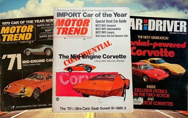 Comment la Chevrolet Corvette à moteur central est devenue la plus grande légende urbaine de l'industrie automobile