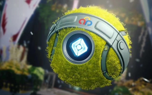 Les jeux de gardien de Destiny 2 reviennent avec un fantôme de balle de tennis
