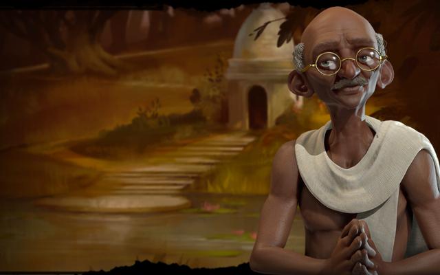 Gandhi è ancora uno stronzo in Civilization VI