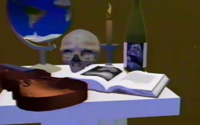 90年代のバーチャルリアリティミュージックビデオは、低解像度の魅力を維持しています