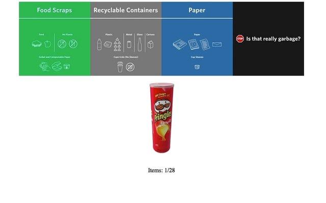 วิดีโอเกมง่ายๆนี้แสดงให้คุณเห็นวิธีการจัดเรียงถังขยะของคุณ