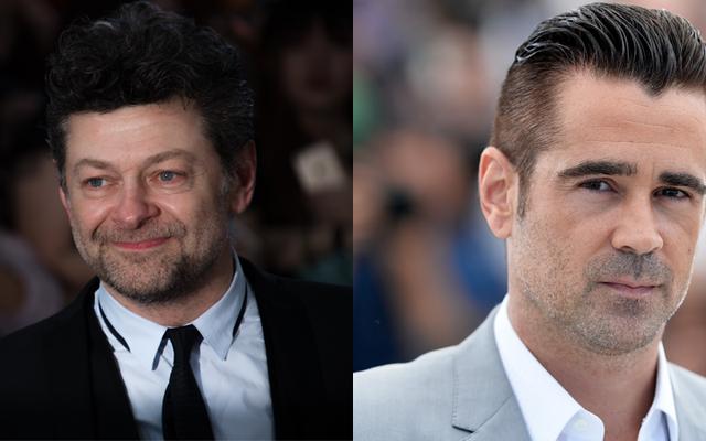 Rapport: Andy Serkis et Colin Farrell pourraient être le nouvel Alfred et le pingouin de Batman