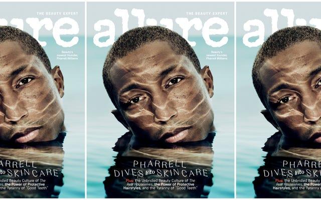 Ce n'est pas un exercice: Pharrell abandonne une ligne de soins de la peau à Thanksgiving