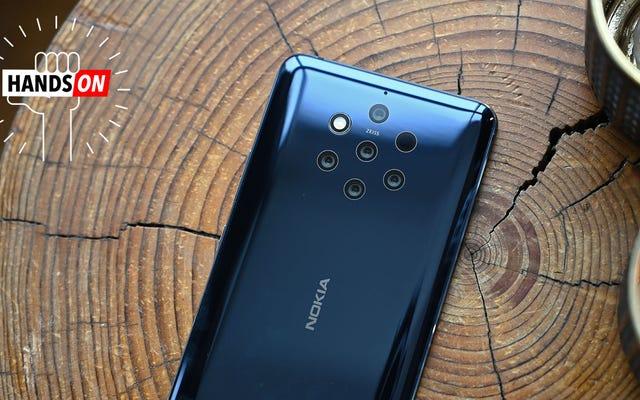 Ni zoom ni grand angle. Les 5 caméras du Nokia 9 se concentrent sur une chose: une qualité d'image brutale