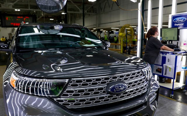 Ford ora prevede una perdita di 2 miliardi di dollari nel primo trimestre