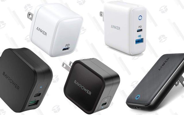 Voici les cinq chargeurs USB-C préférés de nos lecteurs
