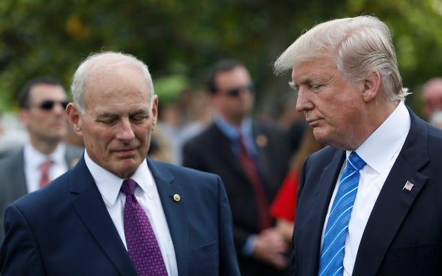 参謀長が国境の壁で彼のスタンスと矛盾し、彼を「無知」と呼んだ後のトランプのビッグマッド:レポート