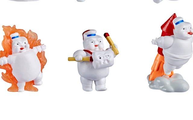 Classement des jouets de mini-puft Ghostbusters de moins pénibles à infiniment dérangeants