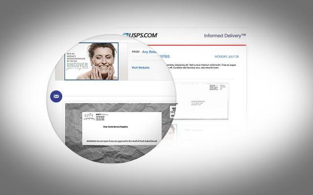 Почтовая служба отправит вам фотографии вашего письма по электронной почте до его доставки