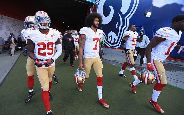 マイケル・ヴィックは、NFLチームがコリン・キャパニックの髪の毛によって延期されることを示唆している[更新]