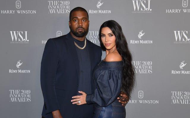 Sorprendentemente, un'altra fonte anonima ha un aggiornamento sul presunto divorzio Kardashian-West