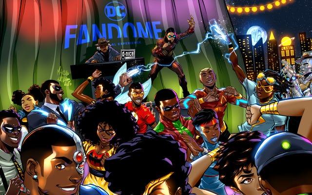 Exclusivo: estás oficialmente invitado al DC FanDome Blerd & Boujee Afterparty con DJ D-Nice en los 1 y 2